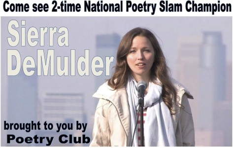National Slam Poet Champion to Perform at SHS