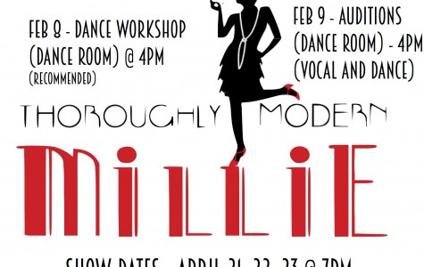 "School Musical Auditions–""Thoroughly Modern Millie"""