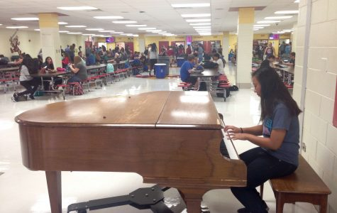 Musical Talents on Display in Cafeteria