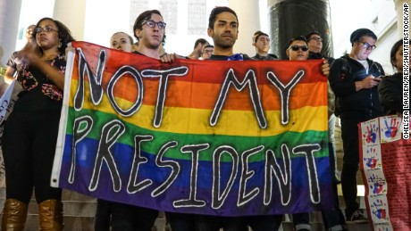 LGBTQ Community Bands Together in Fear Following Trump's Victory