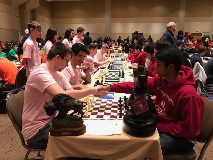 Edwin+Suresh+competes+in+a+chess+tournament.+The+Saxons+ran+their+record+to+6-2+with+a+win+versus+Conant.