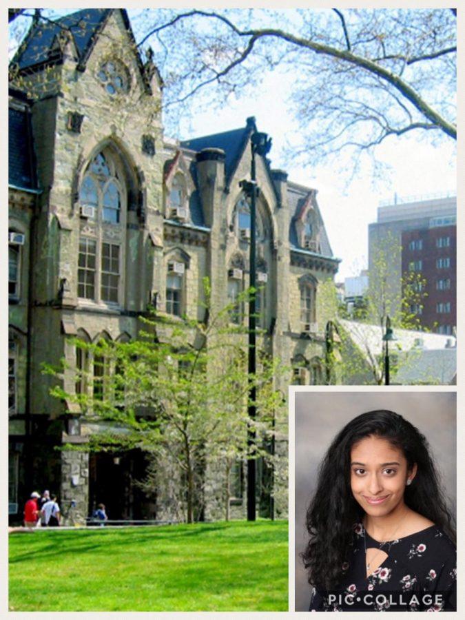 Bhavya+Shah+and+her+future+university.+