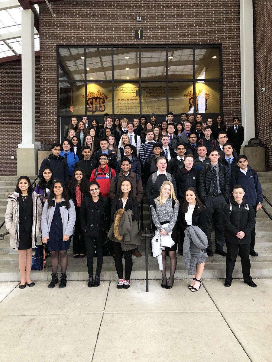 2017-2018 Schaumburg BPA team prepares to head to regionals at Harper community college.