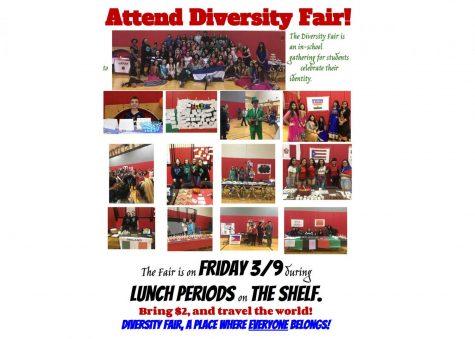 Support culture…attend Diversity Fair!