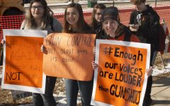 SHS  students join day of protest