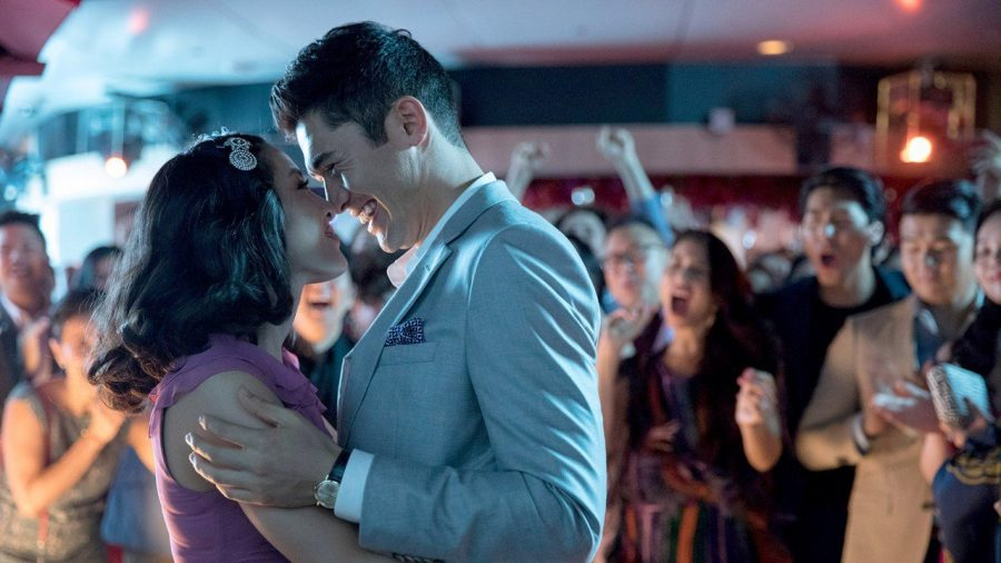 Nick Young & Rachel Chu have a moment in Crazy Rich Asians. The movie has been number one at the box for for three straight weeks.