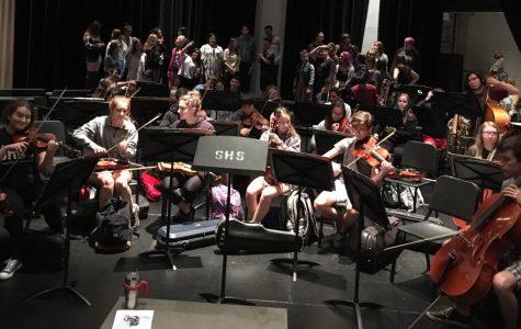 SHS celebrates its mosaic of music