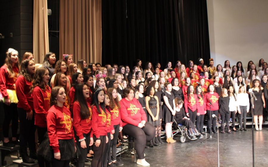 Joint choir concert brings warmth to winter