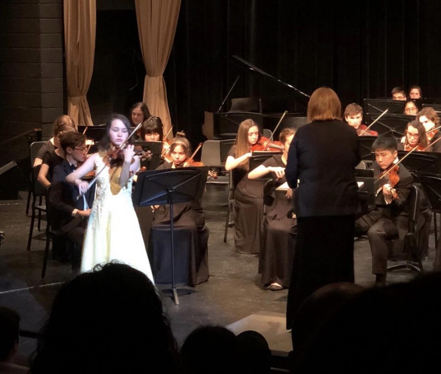Q&A: Senior Maika Edwards—Violinist