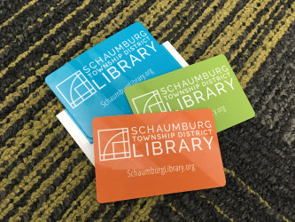 Having a Schaumburg library card allows access to the library