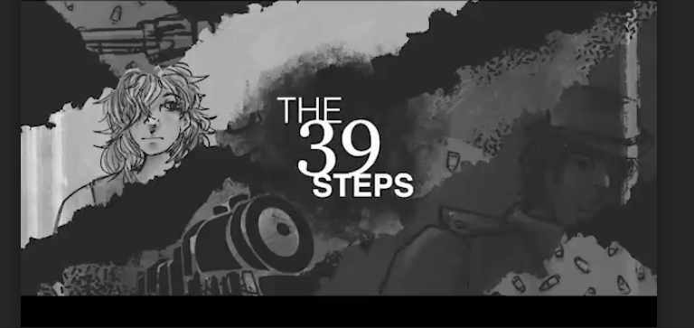 "Performed as a radio play, ""The 39 Steps"" traces one man"
