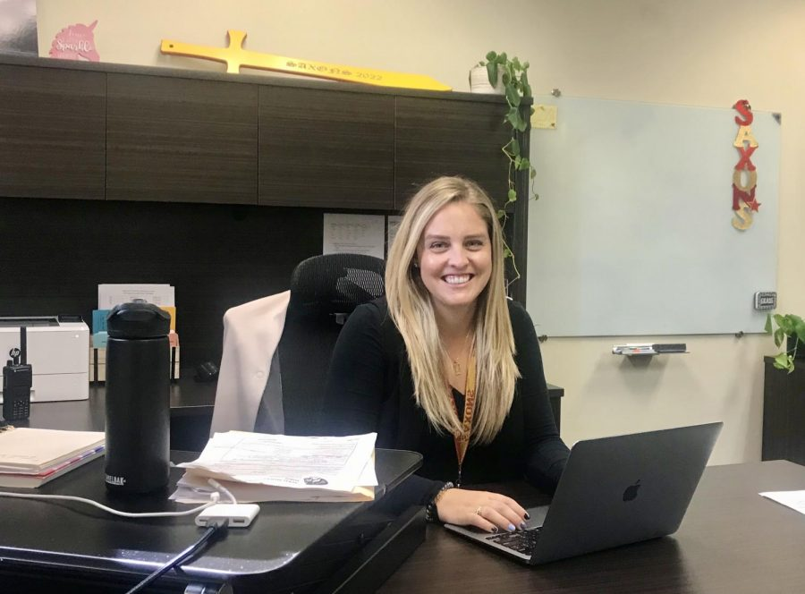 Ms. Whitney Gbur joins the intervention team as a Schaumburg High School Assistant Principal.